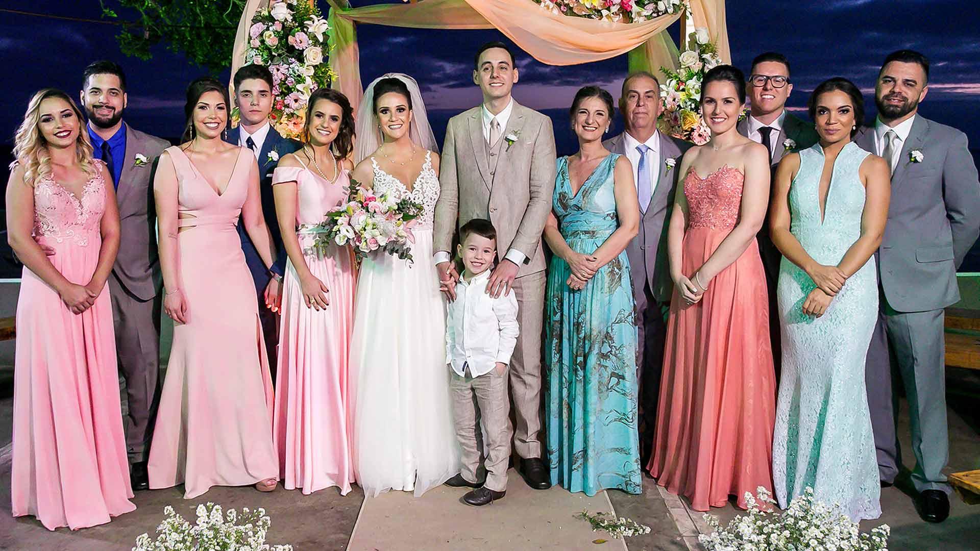 foto padrinho e pais casamento porto alergre