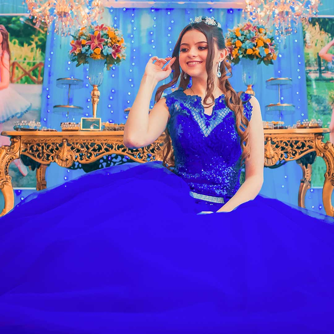 Fotos de debutante sentada