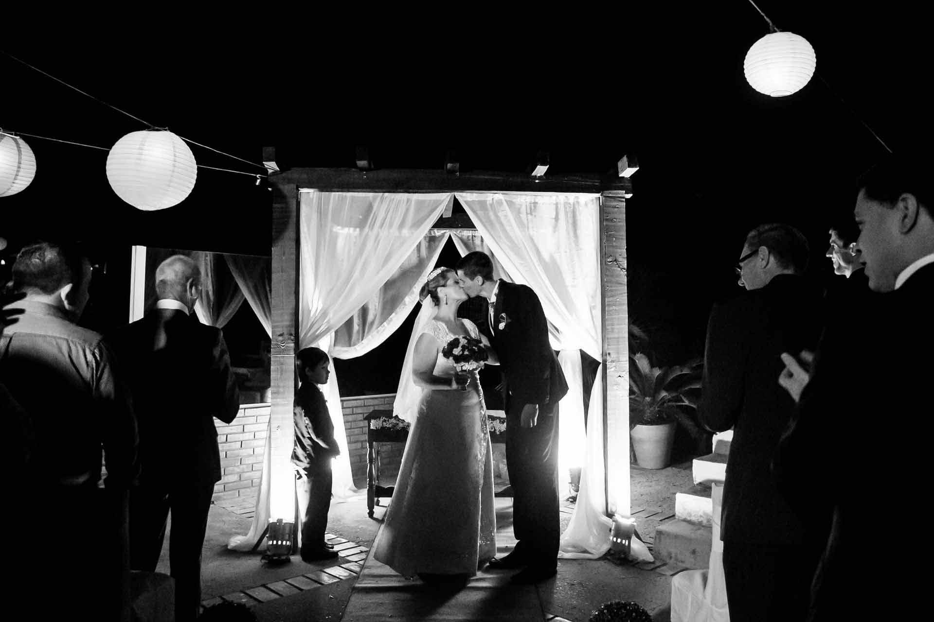 Festa Cerimonia Casamento noturno